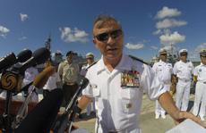 Đô đốc Mỹ: Washington sẵn sàng đối đầu Bắc Kinh ở biển Đông
