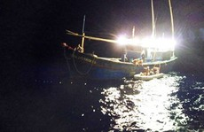 'Anh hùng Chan Chu' gặp nạn trên biển đã vào bờ an toàn