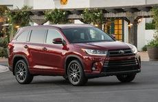 Chi tiết SUV gia đình Toyota Highlander 2017