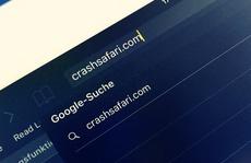 Cận thận với Crashsafari.com trên iPhone