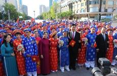Dâng hương Chủ tịch Hồ Chí Minh, Chủ tịch Tôn Đức Thắng