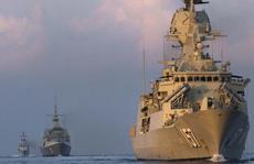 Úc đưa quân theo sát Nga - Trung tập trận ở biển Đông