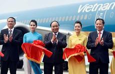 Boeing 787 Dreamliner 'mở hàng' Cảng Hàng không quốc tế Cát Bi