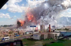 Mexico: Nổ chợ pháo hoa, hơn trăm người thương vong