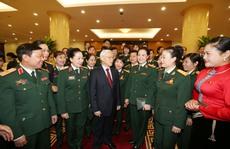 Phát huy truyền thống anh hùng của quân đội