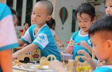 Tạo sân chơi giúp trẻ phát triển toàn diện