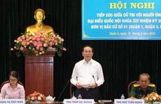 Chủ tịch nước Trần Đại Quang: 'Chống tham nhũng không có vùng cấm'