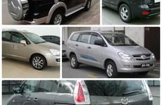 5 ô tô cũ 7 chỗ giá rẻ đáng mua nhất hiện nay