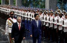 Nhật, Trung cạnh tranh ở Cuba