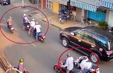 Tái diễn trò tông xe, cướp tài sản ở TP HCM