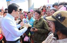 Vinamilk tặng sữa tại Đắk Nông
