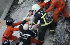 Đài Loan chạy đua cứu 120 người mắc kẹt trong động đất