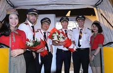 Chiếc máy bay thứ 40 của Vietjet đã về tới Việt Nam