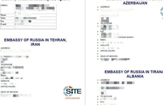 IS phát tán địa chỉ đại sứ quán Nga khắp thế giới