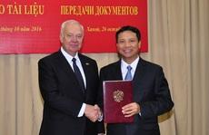 Nga giao các văn bản về lịch sử xây dựng Lăng Bác