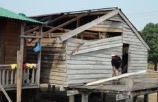 Gia Lai: Lốc xoáy làm 204 ngôi nhà tốc mái