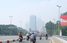 TP HCM trong sương mù chứa nhiều bụi bẩn