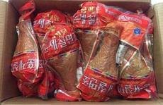 """Đùi gà khủng nặng 1 kg """"cháy hàng"""" ở Hà Nội"""