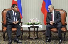 Tổng thống Duterte gặp 'thần tượng' Putin