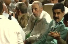 Lãnh tụ Fidel Castro xuất hiện tại gala mừng sinh nhật 90 tuổi