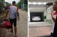 Cầu thủ đến tận nhà Công Vinh nhận tiền bồi thường