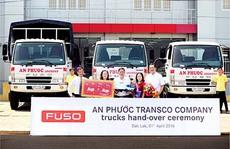 FUSO Việt Nam bàn giao lô xe tải cho Công ty An Phước