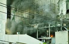 TP HCM: Công trình nhà hàng tiệc cưới bất ngờ phát hỏa