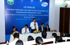 Pfizer Việt Nam đồng hành Trường ĐH Y khoa Phạm Ngọc Thạch
