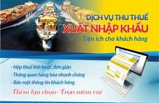 Hải quan thu thuế xuất nhập khẩu qua ngân hàng