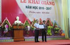 TransViet Group và RMIT Việt Nam trao tặng phòng học internet