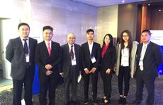 Sinh viên Việt báo cáo đề tài Y khoa quốc tế tại Hàn Quốc