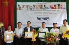 Amway Việt Nam đầu tư hơn 5,6 tỉ đồng vào từ thiện