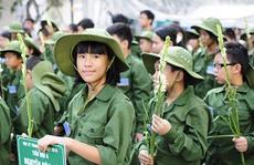 """200 """"chiến sĩ nhí"""" tham gia học kỳ trong quân đội"""