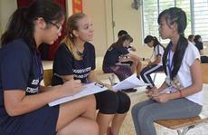 khai mạc Hội trại Tiếng Anh Nam Sài Gòn lần 2