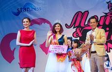 Cặp mẹ con Diệu Hương - Khánh Linh đoạt quán quân Mom & Kids Icon 2016