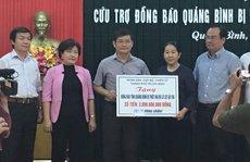 TP HCM ủng hộ 4,5 tỉ đồng giúp người dân khắc phục thiệt hại sau lũ