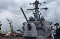 Ngắm tàu khu trục hiện đại của Mỹ đến thăm Đà Nẵng