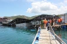 Ninh Thuận: Thành lập tổ kiểm tra làm rõ vụ sập nhà hàng nổi