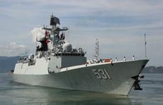 Ba tàu Hải quân Trung Quốc thăm Cảng Quốc tế Cam Ranh