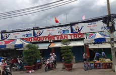 Khu mua sắm ế ẩm, chợ đóng cửa sớm ngày 2/9