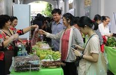 'Phiên chợ xanh tử tế' hấp dẫn người Sài Gòn