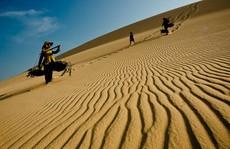 Hoang sơ đồi cát Hòa Thắng