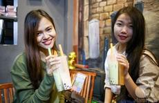 Trà sữa 2 ngăn đang khiến giới trẻ Sài Gòn điên đảo