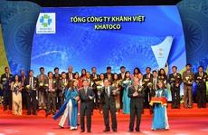 """Khatoco nhận """"Thương hiệu Quốc gia năm 2016"""""""