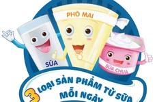 Ba sản phẩm từ sữa mỗi ngày cung cấp đủ canxi cho cơ thể!