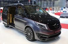'Lâu đài di động' mang tên Mercedes-Benz V-Class Black Crystal