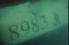 Ảnh chụp máy bay CASA-212 gặp nạn dưới biển