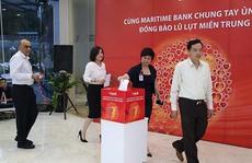Cùng Maritimebank chung tay ủng hộ đồng bào miền Trung