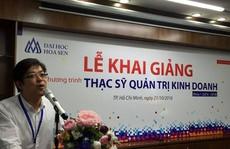 Trường ĐH Hoa Sen khai giảng khóa 1 thạc sĩ Quản trị kinh doanh