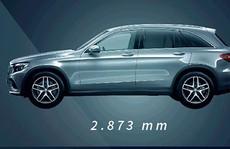 Mercedes-Benz GLC qua infographics